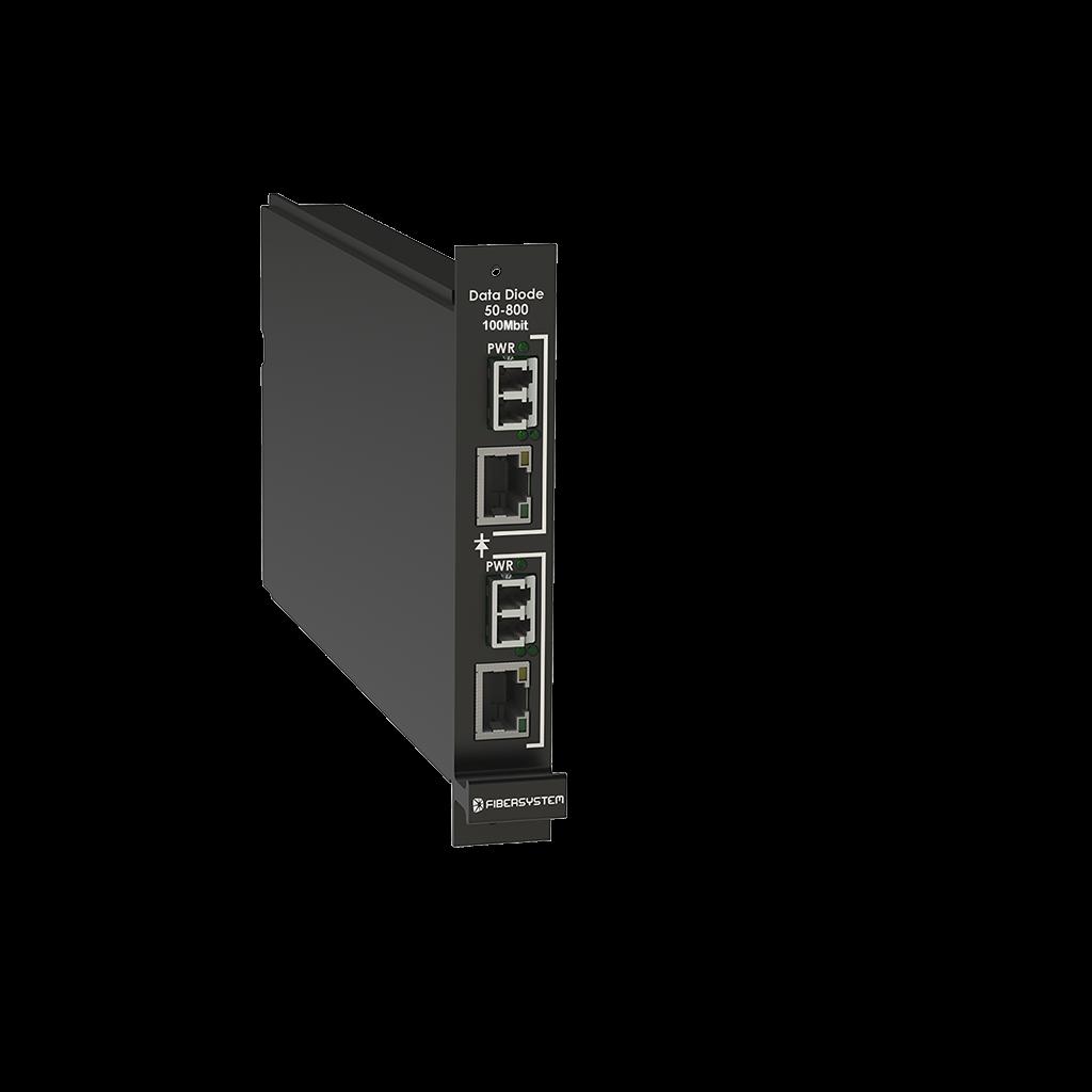 Card Module Data Diode 1Gbit, 100Mb, Rugged