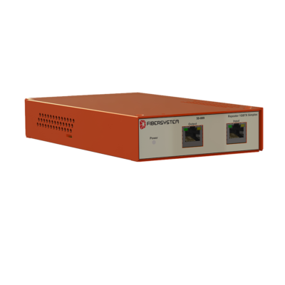 Integrated Data Diode 100BaseTX repeater